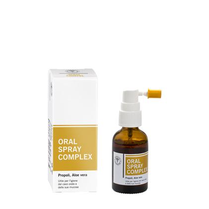 ORAL SPRAY COMPLEX Propoli e Aloe Vera