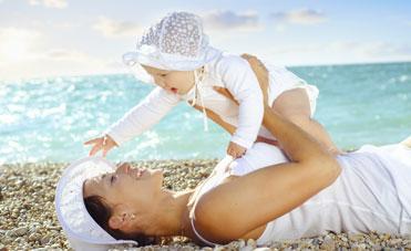 Protezione solare per i bambini