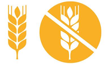 Indicazione prodotti con glutine senza glutine