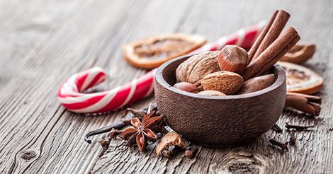 Dieta a dicembre: tanta frutta secca