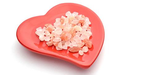 cristalli d sale rosa