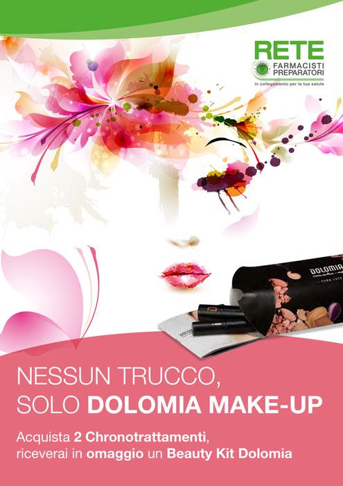 Promozione Dolomia make-up