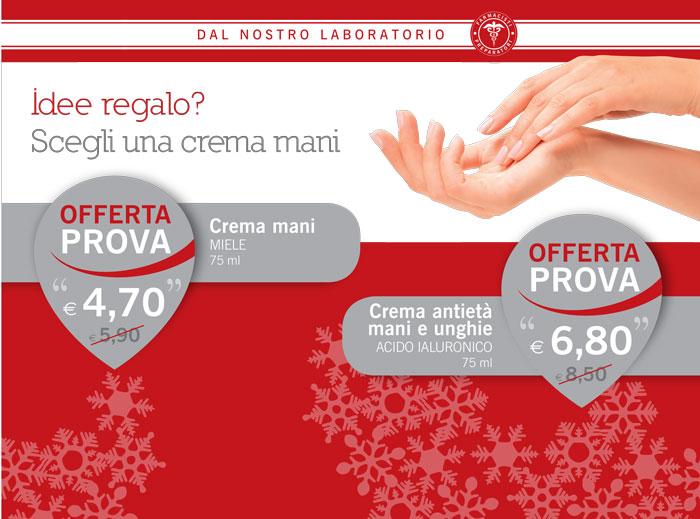 Promozione Crema mani dicembre