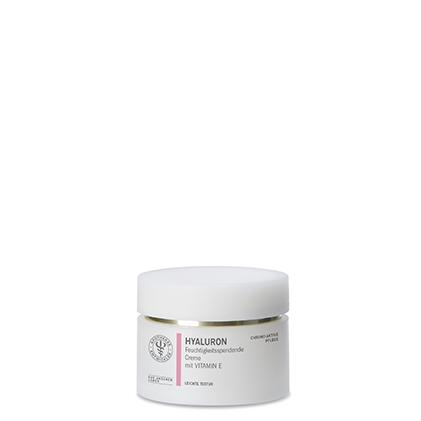 Feuchtigkeitsspendende Creme mit Vitamin E