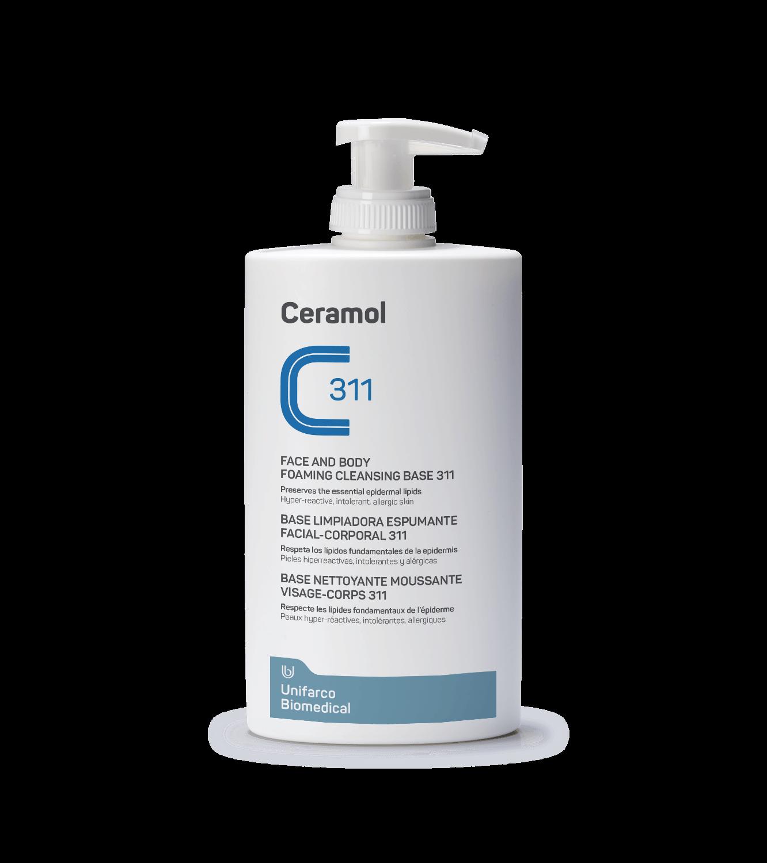 Ceramol Base limpiadora espumante facial-corporal 311