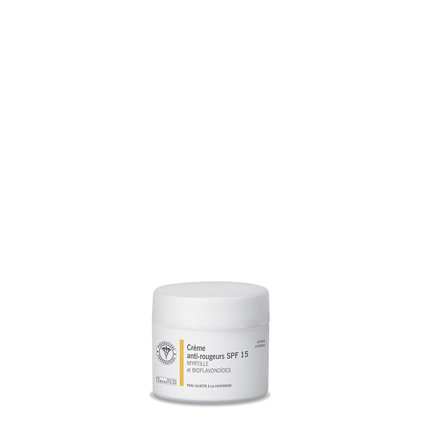 Crème anti-rougeurs SPF 15