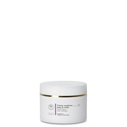 Crème souplessCrème souplesse pour le corps EQUISETUM et HUILE D'AMANDEe pour le corps
