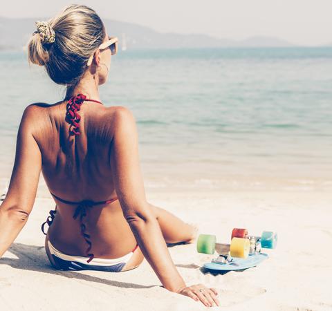 protezione da sole e raggi UV