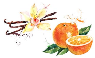 bagnoschiuma profumato vaniglia agrumi
